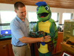 Tanner the Turtle Resort Mascot