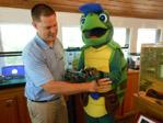Tanner the Turtle Resort Mascot