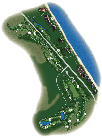 Long Point Course Map