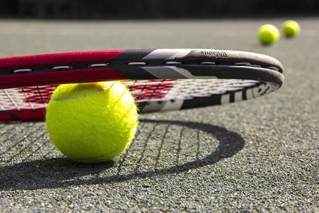 Racket closeup